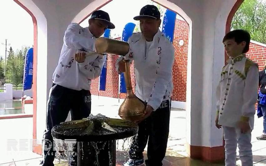 IV İslam Həmrəyliyi Oyunlarının su səyahəti Astarada davam etdirilib - FOTO