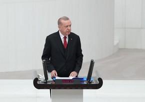 Президент Турции: Они не могут смириться с победой в Карабахе