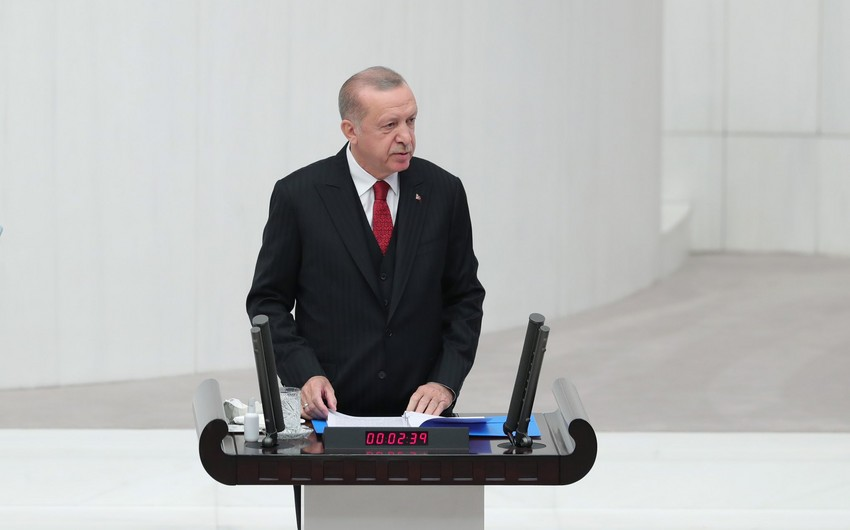 Türkiyə Prezidenti: Qarabağ zəfərini həzm edə bilmirlər