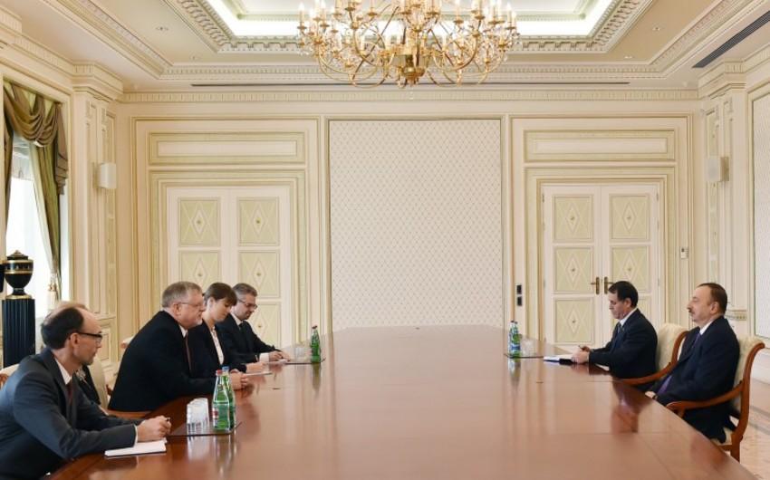 Prezident İlham Əliyev Avropa İttifaqının xüsusi nümayəndəsi ilə Qarabağ münaqişəsini müzakirə edib