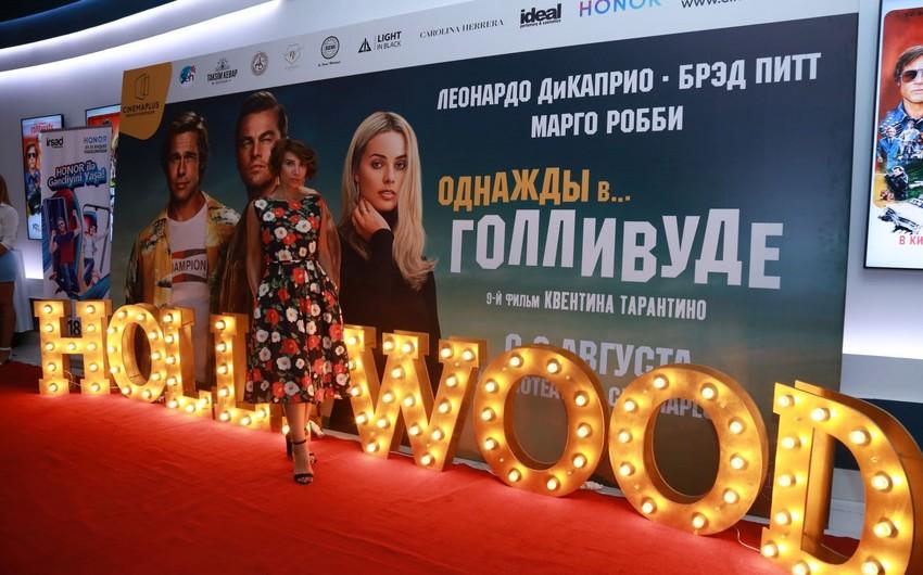 """Cinemaplus""da Tarantinonun doqquzuncu filminin nümayişi olub - VİDEO"