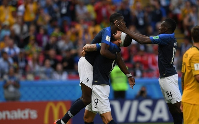 ЧМ-2018: Сборная Франции начала мундиаль с победы - ВИДЕО