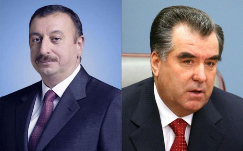 Emoməli Rəhmon Azərbaycan Prezidentinə təbrik məktubu ünvanlayıb
