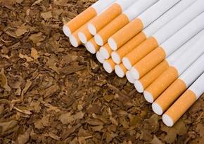 Azərbaycan tütün və tütün məmulatlarının idxalını 27%-ə yaxın azaldıb