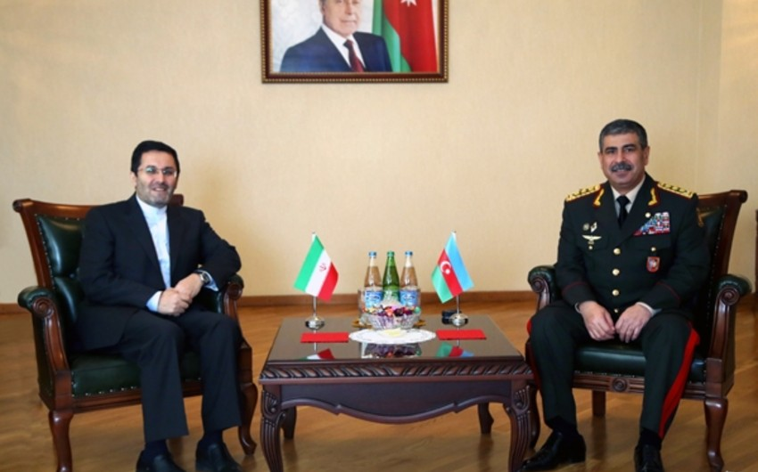 Azərbaycan ilə İran arasında hərbi-texniki əməkdaşlığın perspektivləri müzakirə olunub