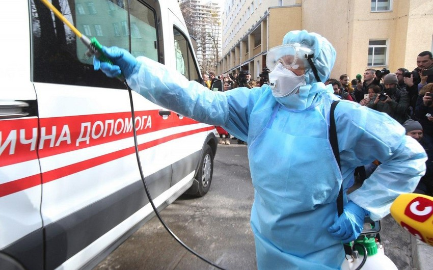 Ukraynada koronavirusa yoluxanların sayı 800-ü ötdü