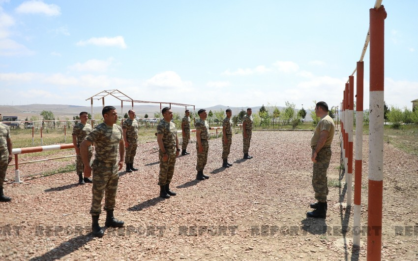 Azərbaycan Ordusunda MAXE olmaq istəyənlərə kurslar keçirilir