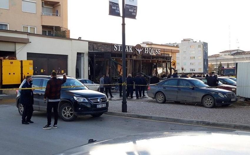 Serbiyada partlayış nəticəsində 42 nəfər xəsarət alıb