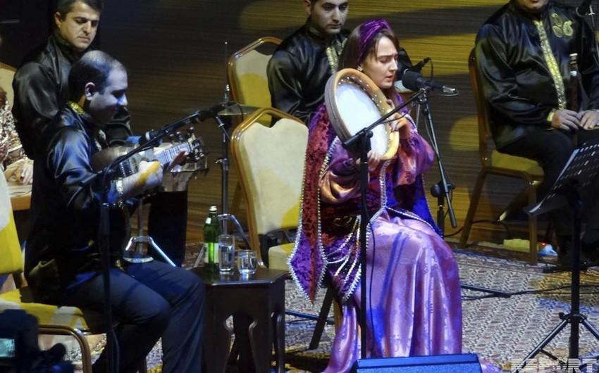 Güllü Muradova konsert verib
