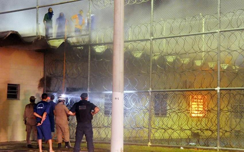 Braziliyada türmədə dava zamanı 15 nəfər ölüb - VİDEO
