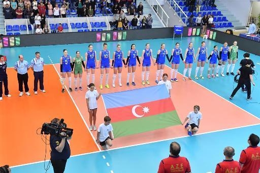 Azerbaijani volleyball team will play with Greece