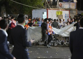 Israeli PM visits site where religious festival stampede killed 44