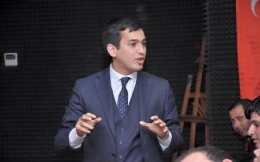 Fərid Şahbazlı: Prezidentin nitqi Azərbaycan gəncliyinin fəaliyyəti üçün yol xəritəsi rolunu oynayır
