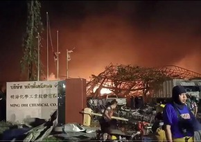 Tailandda zavodda partlayış olub, 20 nəfər yaralanıb