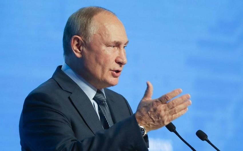 """Putin: """"Varis haqqında danışıqlar vəziyyətin sabitliyini pozur"""""""
