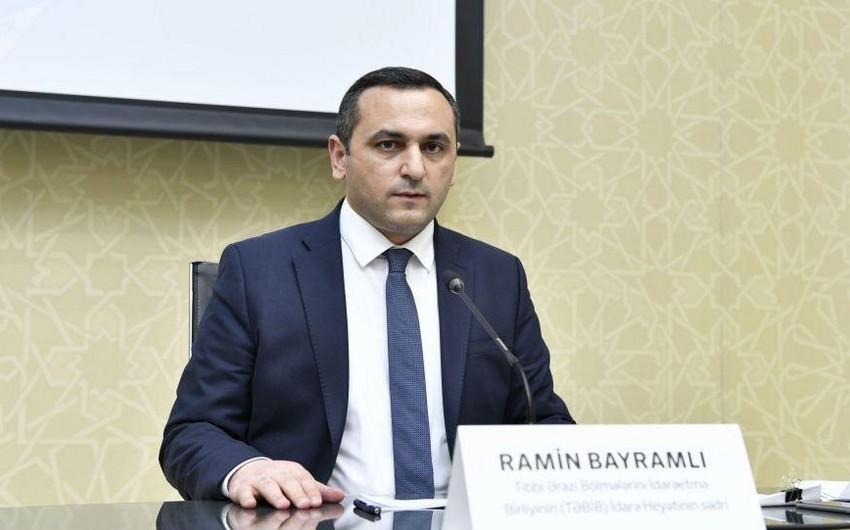 Глава TƏBİB написал заявление об уходе со своей должности