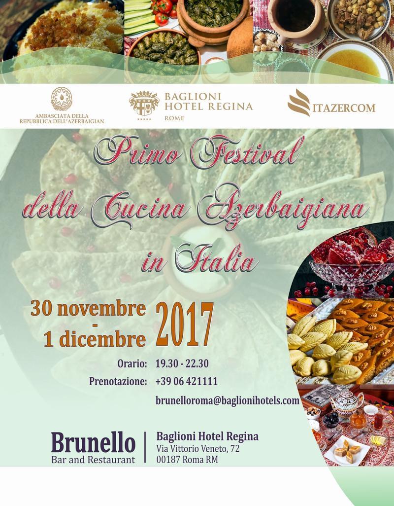 Italy to host First Azerbaijani Cuisine Festival