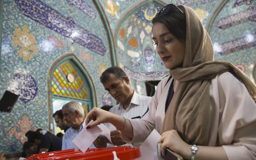 İranda prezident seçkiləri başa çatıb