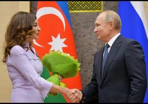 Putin Azərbaycanın Birinci vitse-prezidentini təbrik etdi