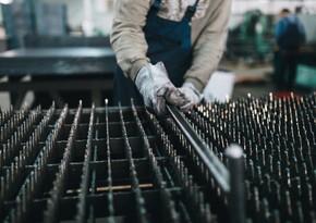 Dünyada xam polad istehsalı azalıb