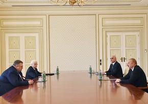 President Ilham Aliyev receives Russian Deputy PM