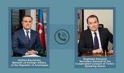 Состоялся телефонный разговор главы МИД Азербайджана с генсеком Тюркского совета