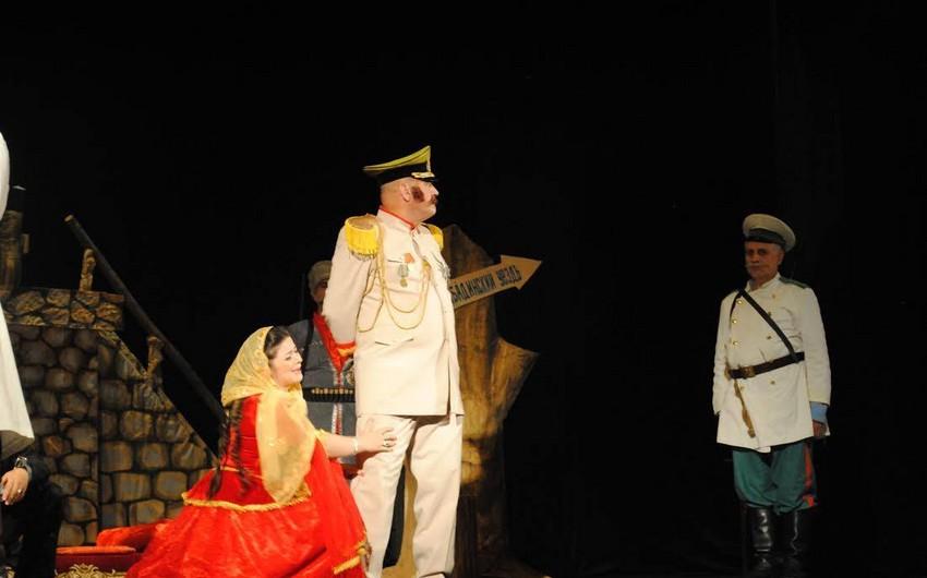 Sumqayıt teatrında Hacı Qara tamaşasına daxili baxış keçirilib