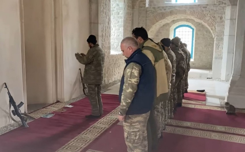 Friday prayers performed in Shusha after 28 years