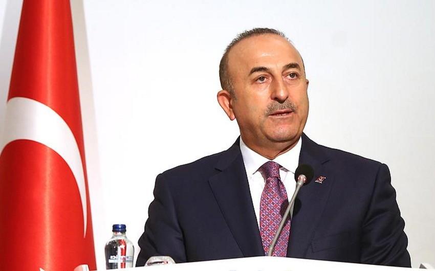 """Mövlud Çavuşoğlu: """"Şərqi Qüdsün Fələstinin paytaxtı kimi tanınmasını təşviq etməliyik"""""""