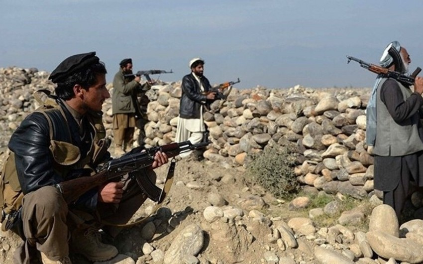 Taliban silahlıları polisə hücum edib, ölən və yaralanan var
