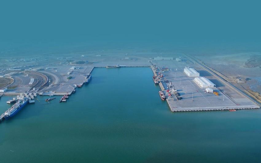 Bakı Limanında konteyner aşırılması 55% artıb