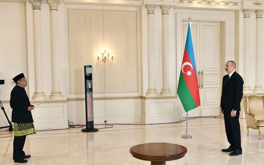Səfir: İndoneziya Azərbaycanla əməkdaşlığın inkişaf etdirilməsi arzusundadır