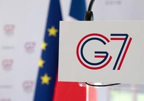 G7 pandemiyaya qarşı tədbirləri müzakirə edəcək