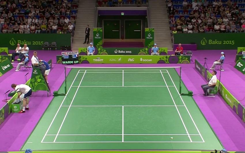Bakı 2015: Badminton yarışları davam edir - CANLI YAYIM