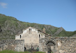 В монастыре Агогланв Лачыне почтили память шехидов