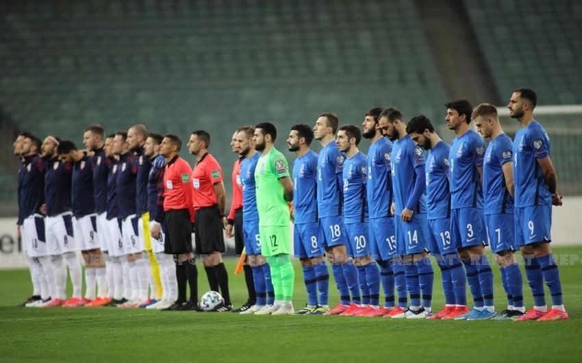 Futbol üzrə Azərbaycan millisinin heyəti açıqlanıb