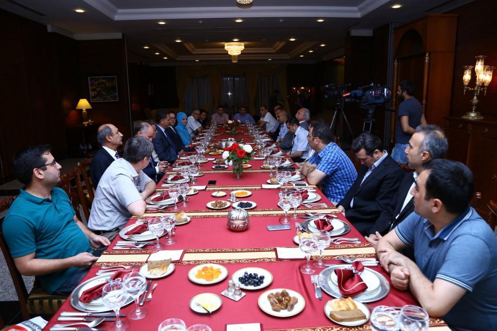 Turkish Embassy to Azerbaijan hosts Iftar dinner for media representatives
