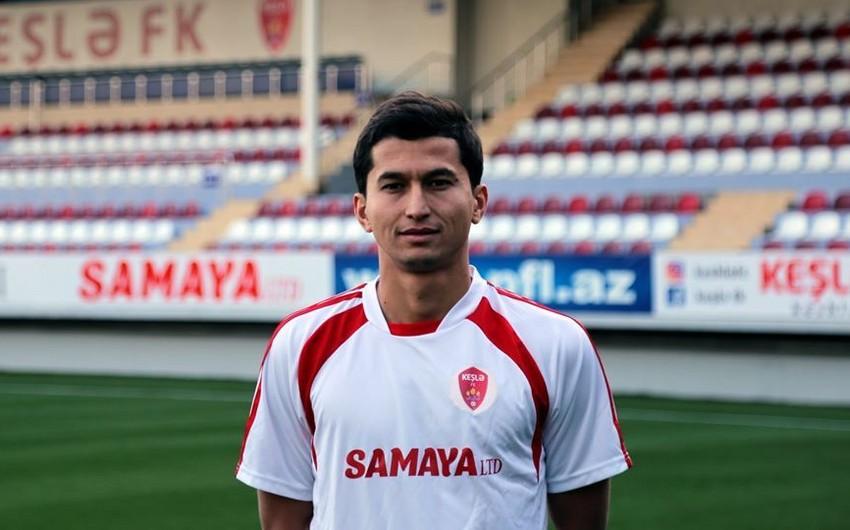 Keşlə özbəkistanlı futbolçu ilə müqavilə imzalayıb