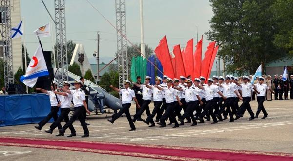 Military Sailors are awarded in the contest Caspian Cup - 2016