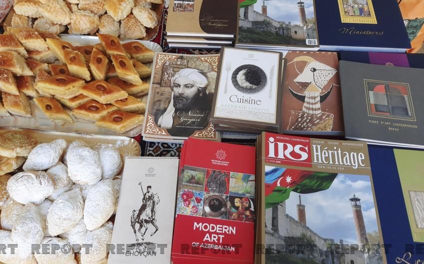 Fransada keçirilən Forumda Azərbaycan mədəniyyəti nümayiş olunur