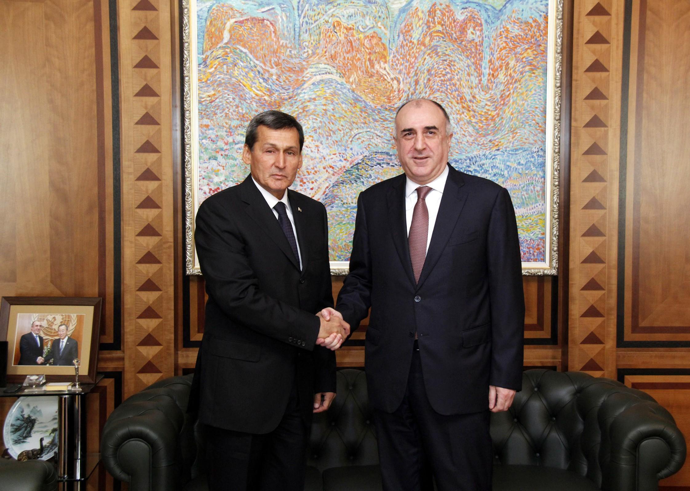 Между МИД Азербайджана и Туркменистана проведены политические консультации, подписана программа
