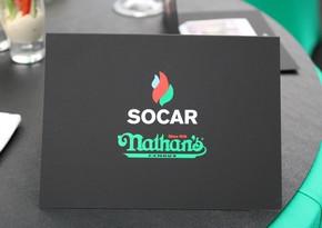 На АЗС SOCAR в Киеве открылся известный американский бренд