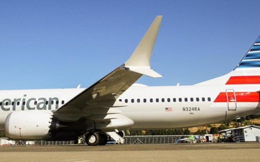 """""""American Airlines"""" """"Boeing 737 MAX"""" təyyarələrinin uçuşuna qoyduğu qadağanın müddətini uzadıb"""