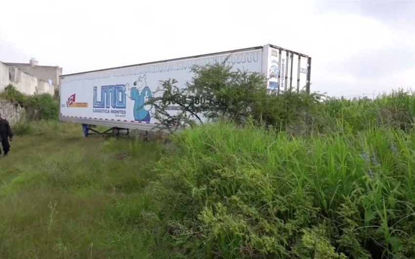Meksikada 157 cəsədin olduğu yük avtomobili aşkarlanıb