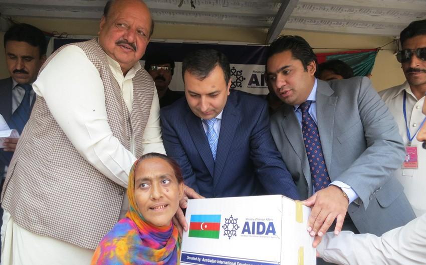 Pakistanın Pəncab əyalətində Azərbaycan Beynəlxalq İnkişafa Yardım Agentliyinin humanitar yardım aksiyası keçirilib