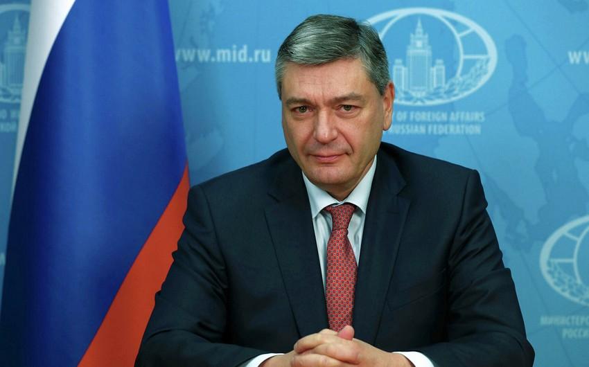 Rusiya XİN başçısının müavini: Qarabağda gərginliyin yaranması Ermənistana lazım deyil