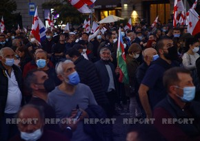 Supporters of ex-Georgian president gathering in Tbilisi to demand his release