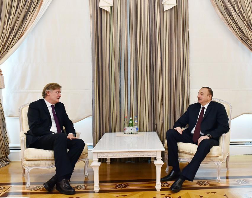 Президент Ильхам Алиев принял генерального секретаря Европейской народной партии