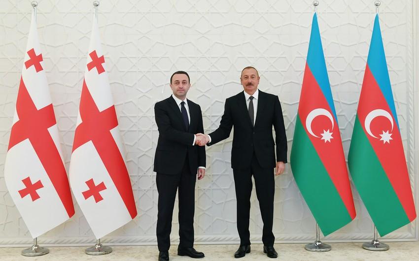 İlham Əliyev Azərbaycan-Gürcüstan əlaqələrindən danışıb