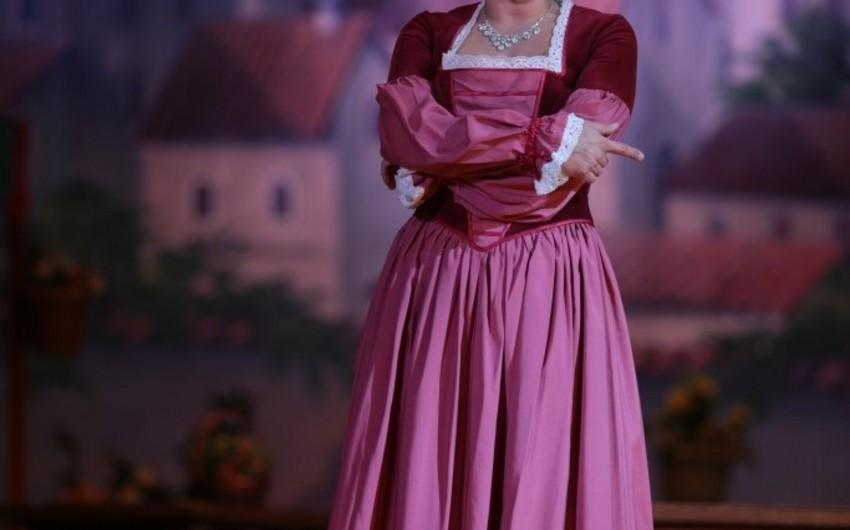 İnarə Babayeva Belarus Teatrının səhnəsində çıxış edəcək